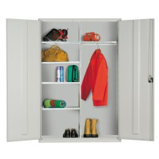 Steel Clothing and Equipment Cabinet 1830Hx1220Wx457D EL4818CE