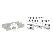 Storewall Panel Kit  - 23 Pieces DSW141