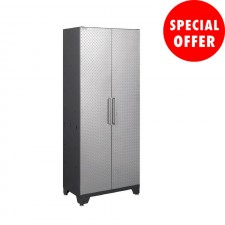NewAge Performance Series Diamond Silver - Steel Garage Cabinet N51004
