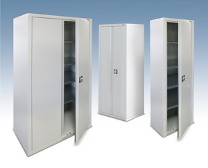 Dura tall steel storage cabinets