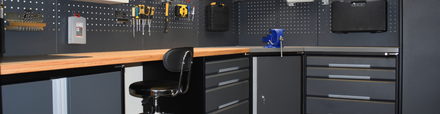 Quality garage cabinets to solve your storage problems.