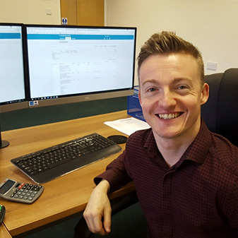 Ricky Balshaw - Sales Administration and Customer Service