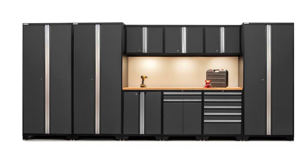 Garage storage cabinets garage interiors garagepride - Simple garage storage cabinets in cool structured design ...