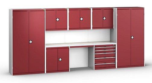 Garage Storage Cabinets Interiors