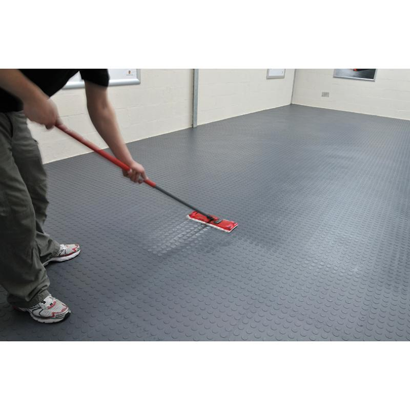 Our garage floor tiles are very easy to keep clean.