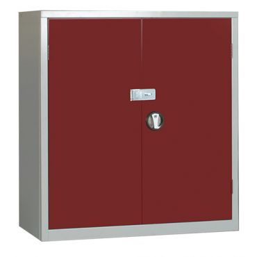 Steel Secure Cupboard 1000Hx915Wx457D EL3618SS with Hasp and Staple for Padlock