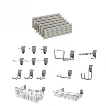 Garage Wall Storage StorePanel™ Kit  - 15 Accessories DSP161