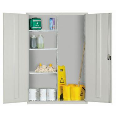 Steel Janitorial Cupboard 1830Hx1220Wx457D EL4818J