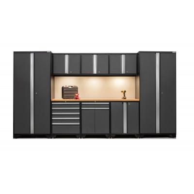 NewAge 9 Piece Set N52179 - Professional 3.0 Series Heavy Duty Garage or Workshop Set