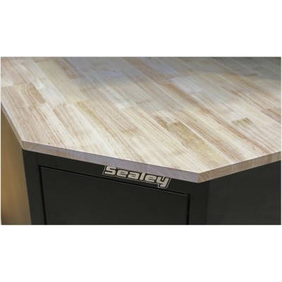 Sealey Premier Oak Corner Worktop - SPOAKCORNER