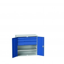 Bott Verso Drawer and Shelf Cabinets 1000mm High, 800/1050 Wide