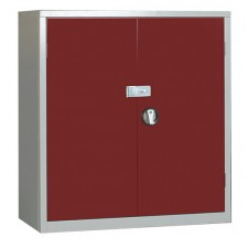 Steel Secure Cupboard 1000Hx915Wx457D EL3618S with Hasp and Staple for Padlock