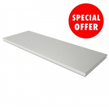 Stainless Steel Worktop N36148 Two Cabinets Wide