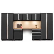 NewAge 8 Piece Set N52092 - Professional 3.0 Series Heavy Duty Garage or Workshop Set