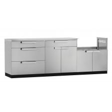 Outdoor Kitchen Cabinet 4 Piece Set - N65051