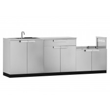 Outdoor Kitchen Cabinet 4 Piece Set - N65058