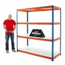 400kg UDL Industrial Melamine Racking Shelves