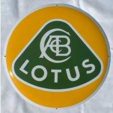 Enamel Sign Lotus