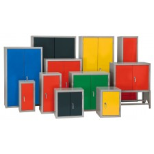 Steel Storage Cabinets - Multiple Sizes and Colours