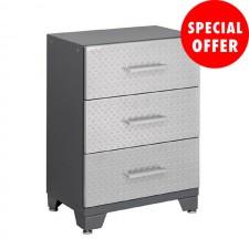 NewAge Performance Series Diamond Silver - Tool Drawer Base Cabinet N51001