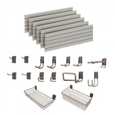 Garage Wall Storage Storewall Kit  - 15 Accessories DSW161
