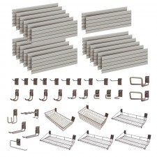 Garage Wall Storage Storewall Kit  - 32 Accessories DSW163