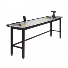 NewAge Garage Workbench N31080 - Width 96 inches, Stainless Steel Worktop