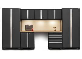 NewAge 8 Piece Set N52061 - Professional 3.0 Series Heavy Duty Garage or Workshop Set