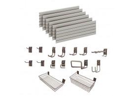 Garage Wall Storage Storewall Kit  - 15 Accessories DSW161