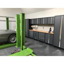 NewAge cabinets and floor tiles. June 2017