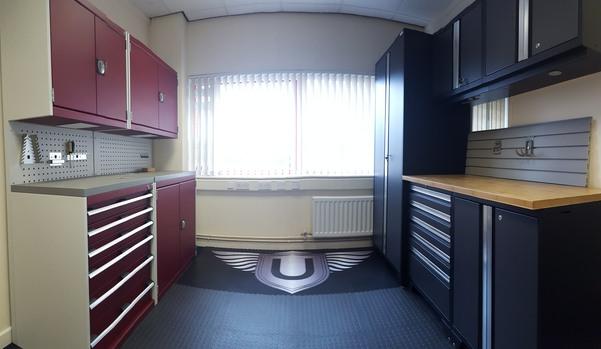 GaragePride's Showroom in Shrewsbury