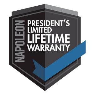 Napoleon Pro 825 grill lifetime warranty