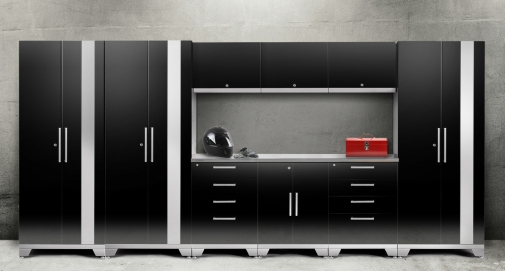 d newage x w p in h home welded inch en cabinet grey bamboo piece worktop set steel cabinets products