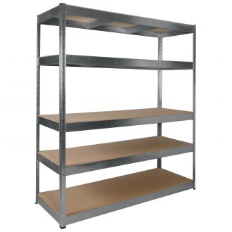 BOSS 5 Shelf Kit 1800x1600x600mm BS13507