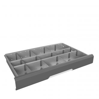 Metal Drawer Dividers 15 Compartments G2041