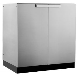 Outdoor kitchen cupboard - stainless steel