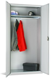 Steel Wardrobe Cupboard 1830Hx915Wx457D EL3618W