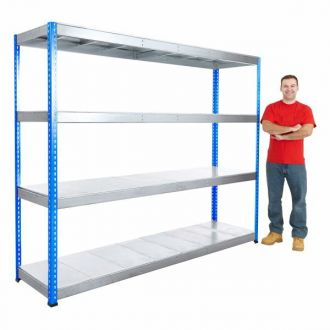 400kg UDL Industrial Steel Racking Shelves
