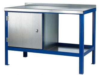 Heavy Duty Steel Top Workbenches