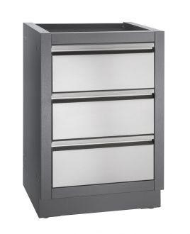 Napoleon Two Drawer Cabinet NAP2DC