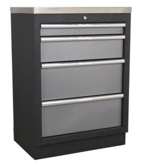 Sealey 4 Drawer Cabinet - SSLP4Drawer