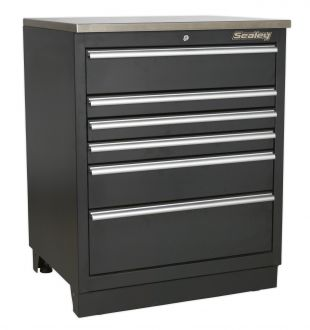 Sealey Premier 6 Drawer Cabinet - SP6DRAWER