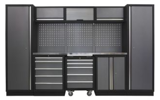 Sealey 8 Cabinet Set SSLP03 - Superline Pro Range