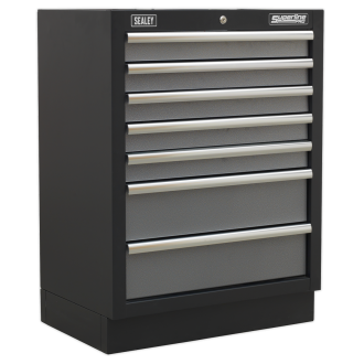 Sealey 7 Drawer Cabinet - SSLP7Drawr