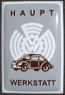 Enamel Sign VW Werkstatt