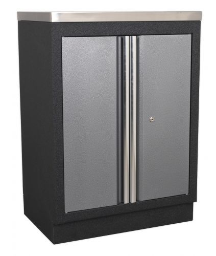 Enjoyable Sealey Modular 2 Door Floor Cabinet Sslpcup Home Interior And Landscaping Ologienasavecom