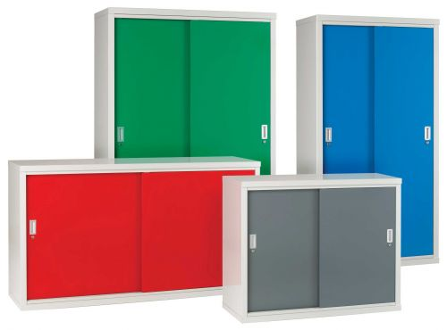 Kitchen Cabinets Sliding Doors: Steel Cabinets With Sliding Doors