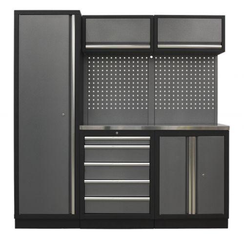 Sealey Garage Workshop Cabinet Set 6 Piece Sslp02