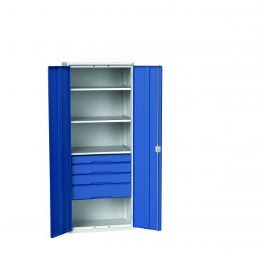 Bott Verso Drawer and Shelf Cabinets 2000mm High, 800 Wide