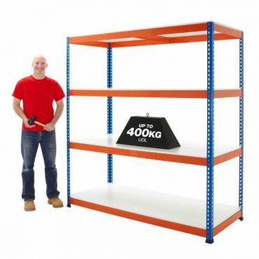 400kg UDL Industrial Melamine Racking Shelves